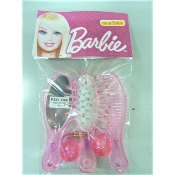 Barbie mirror comb brush set