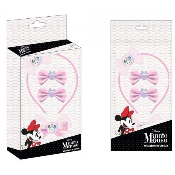 Disney Minnie Kids hair clip box set