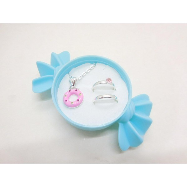 Kids Candy Jewelry set - Necklace + ring