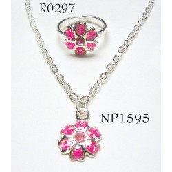 Kids Jewelry set - Necklace + ring
