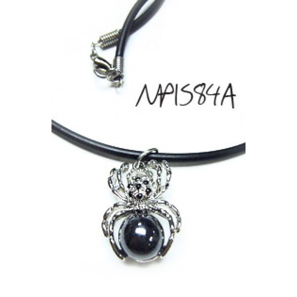 Women Fashion Choker with spider pendant