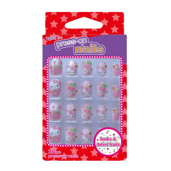 Hello Kitty 20 pcs Art Nail box set