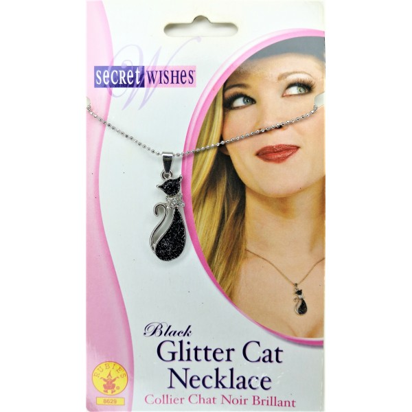 Rubies Women Fashion Cat Charm Necklace