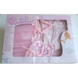 Simba Ballet skirt head band shoes set in box 2 Assorted